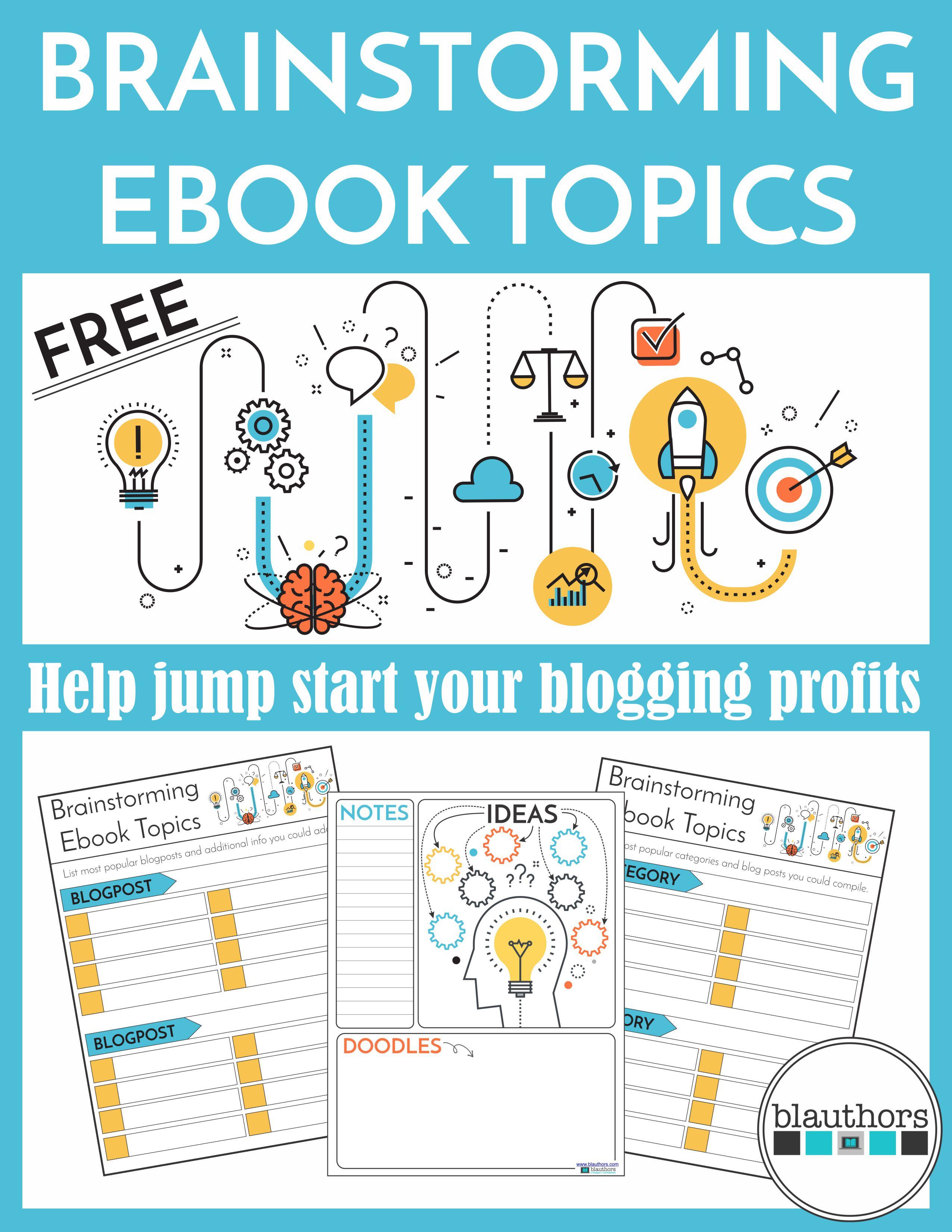 Brainstorm Ebooks from blauthors