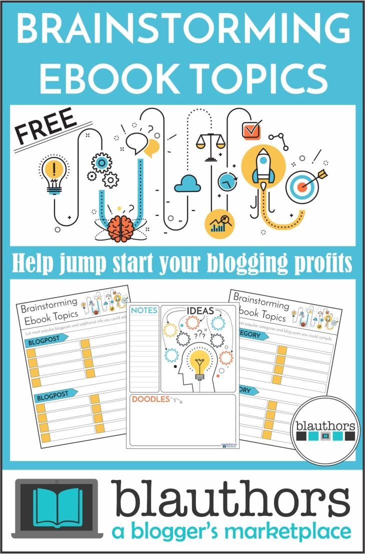Brainstorm ebook from blauthors