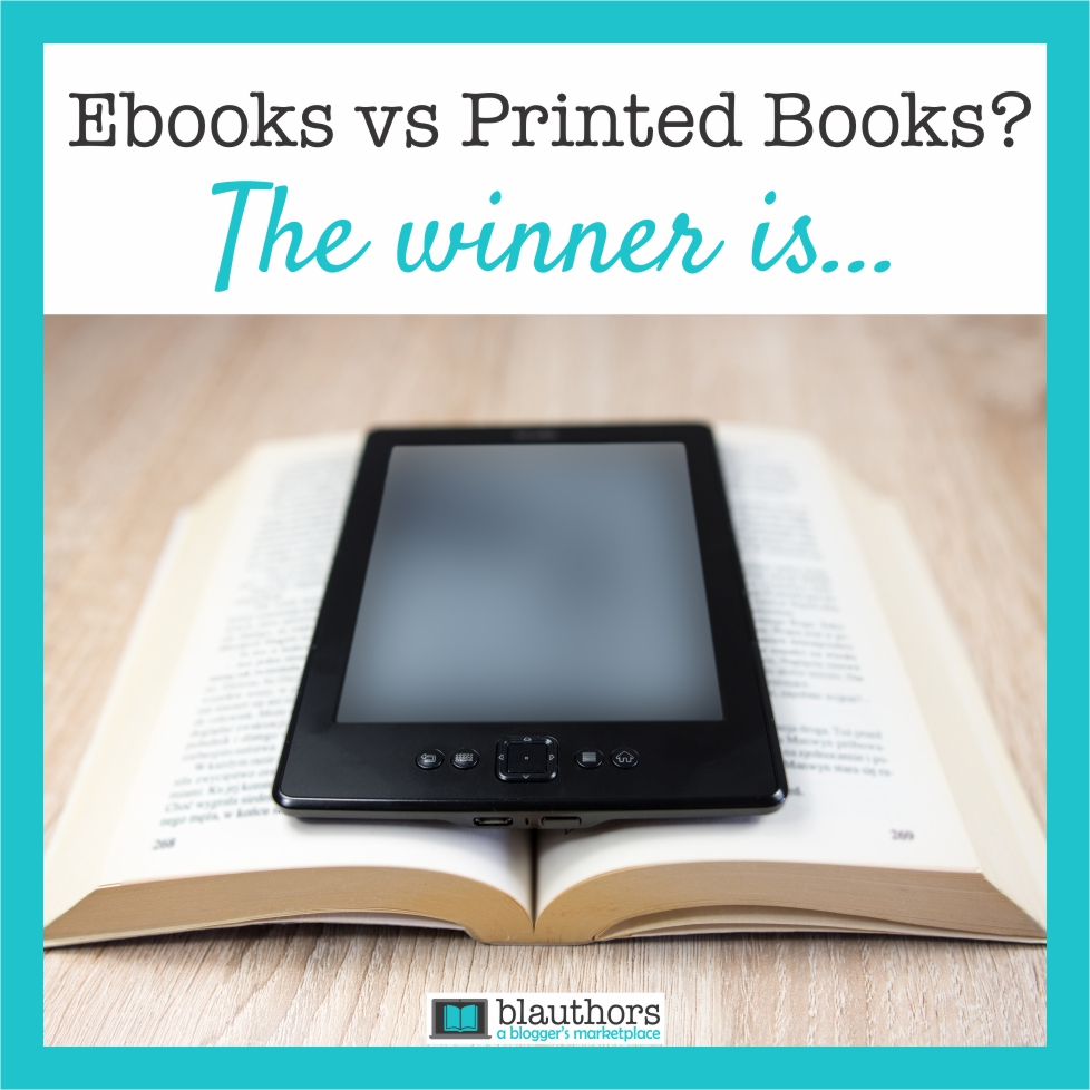 Ebooks vs printed books
