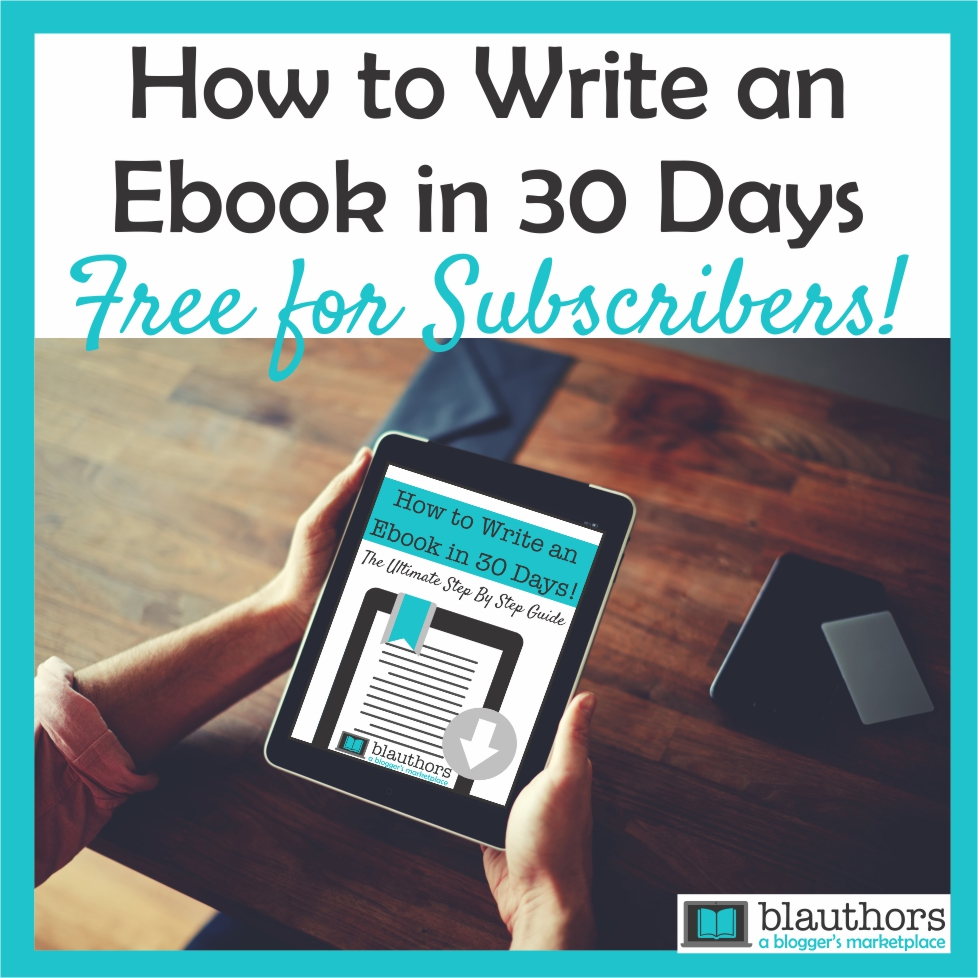 How to write ebook