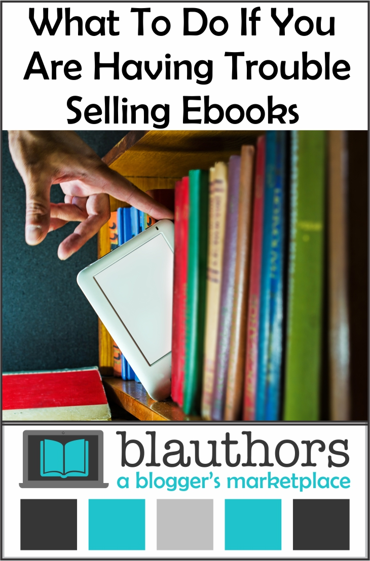 trouble selling ebooks