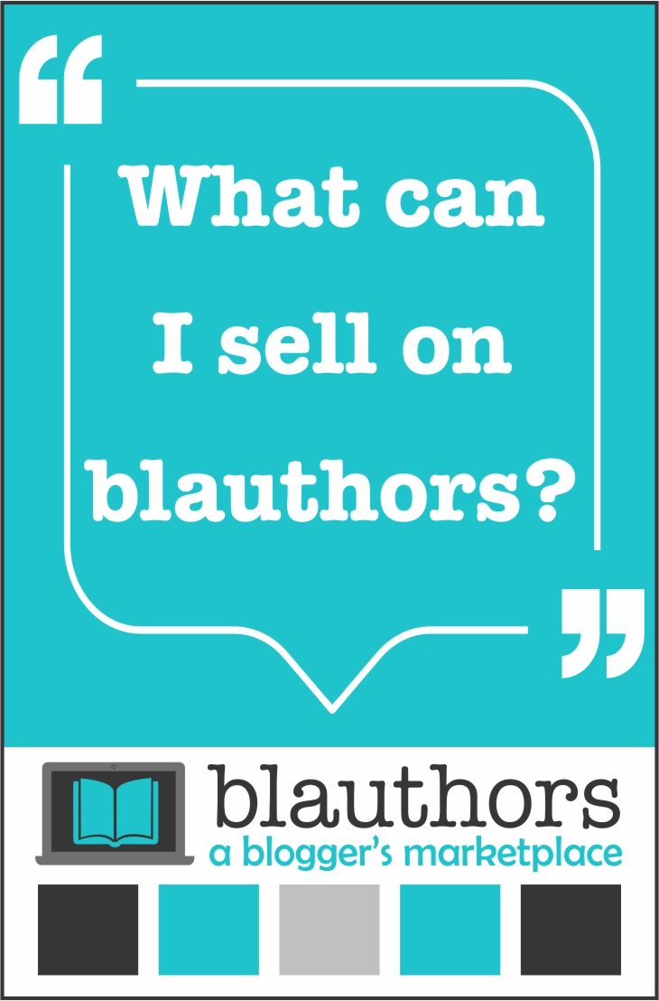 What can I sell on blauthors