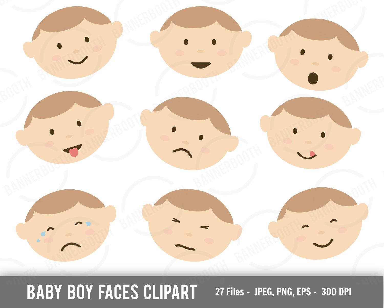 Cute Baby Boy Clipart
