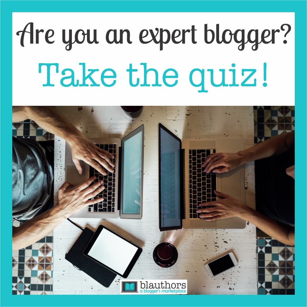 Are you an expert blogger Take the Quiz