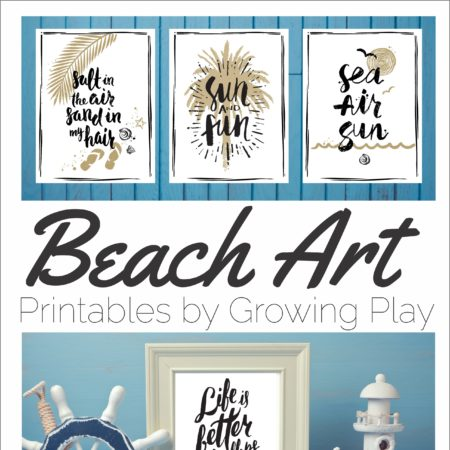Beach Art Prints Digital Download