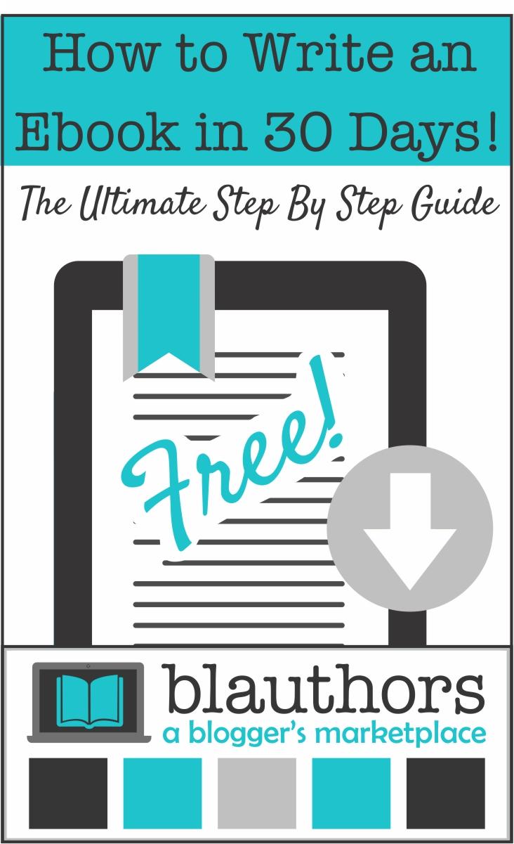 How to write ebook