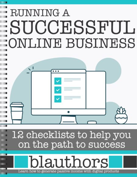 Running a Successful Online Business - 12 Checklists to Help You on the Path to Success digital download includes 120 actionable steps to take your business to the next level all in one easy to access format.