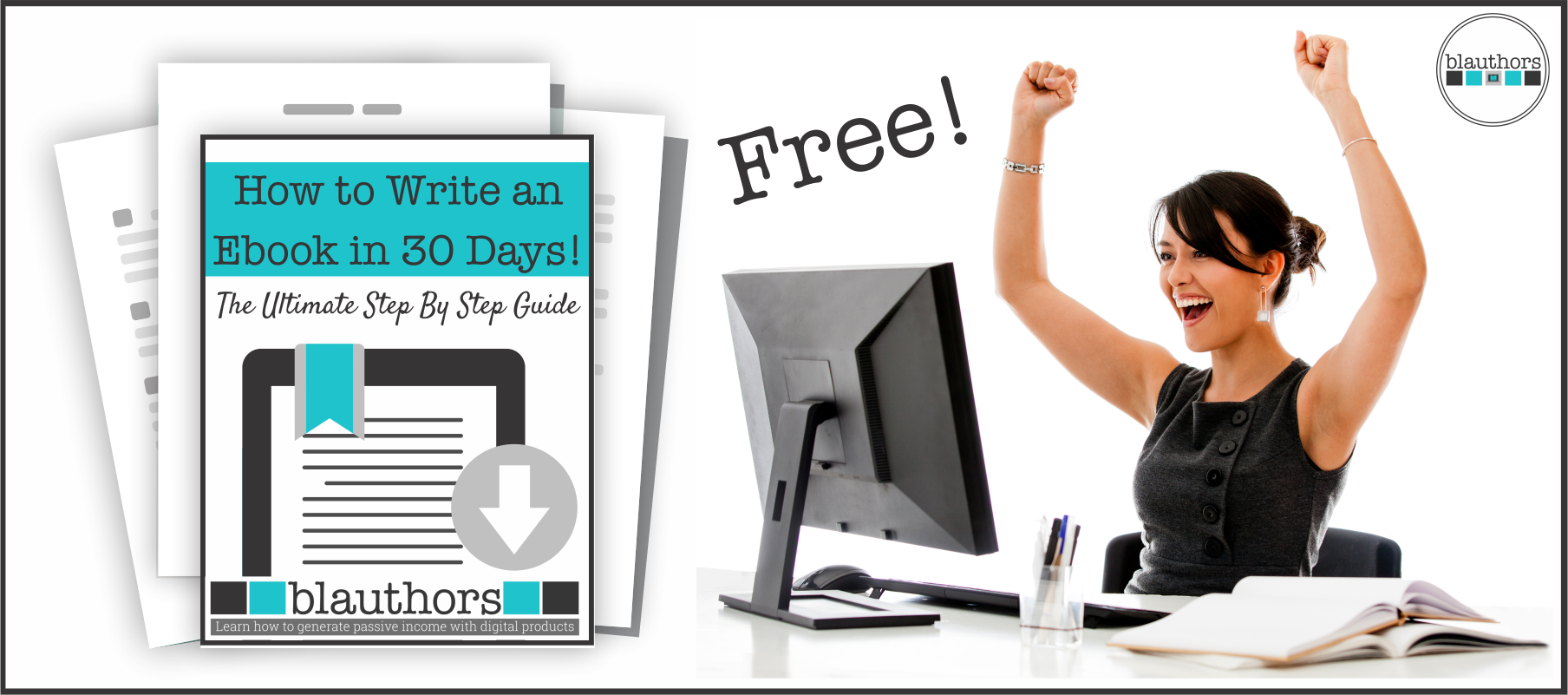 Are you in search of a free ebook template to jump-start your digital product creation?  This free ebook template is big!