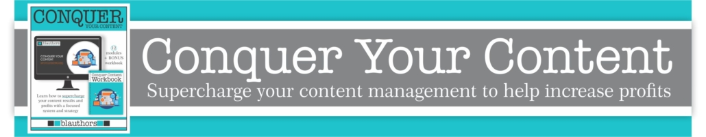 Conquer Your Content Course by blauthors